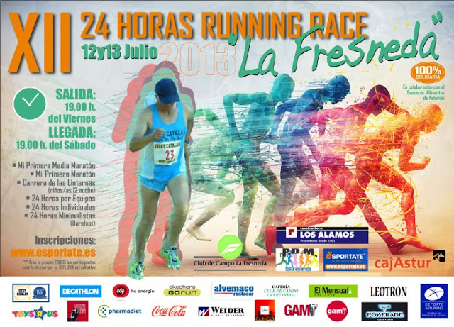 XII 24 HORAS RUNNING RACE «LA FRESNEDA»