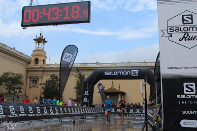 CRÓNICA- SALOMON RUN BARCELONA 2018