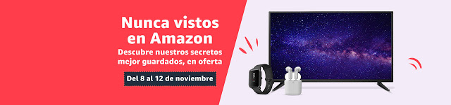 Nunca vistos en Amazon